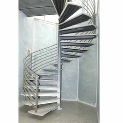 Amazing Stainless Steel Spiral Staircases   Navkar Steel Art, Ahmedabad | ID:  7577579773