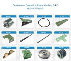 Carding Spare & Parts