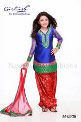 Kids Designer Salwar Kameez