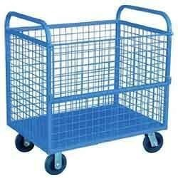 Mild Steel Metal Trolley