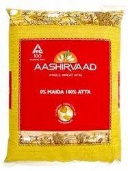 Nature Fresh Chakki Atta Aashirwad Wheat Flour, for Chapatis