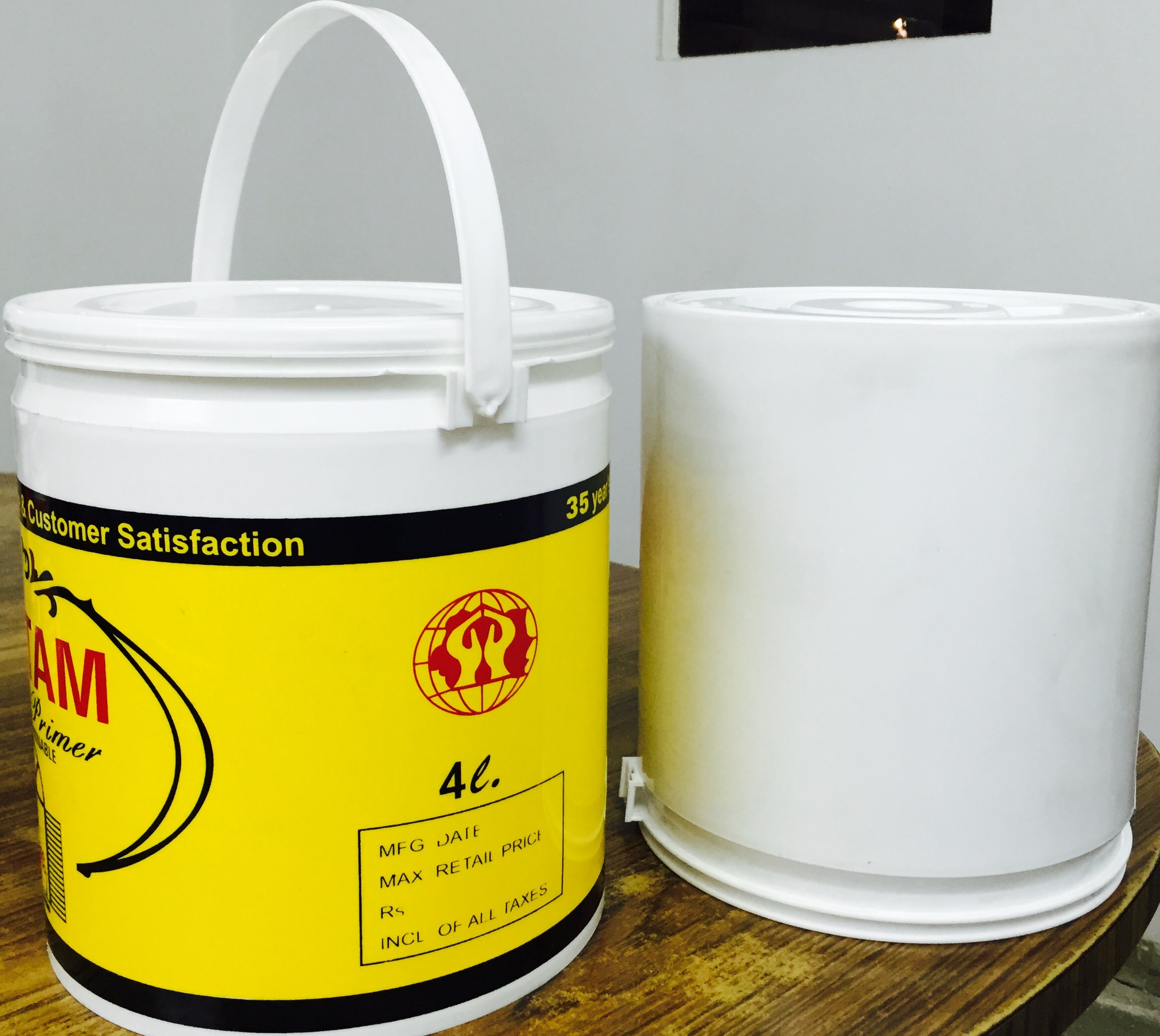 Paint Pail Bucket Containers प ल In Amritsar Techplast Id 9153708462