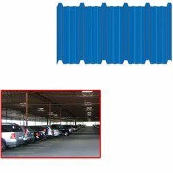 Hi Rib Galvalume Sheet For Parking Area