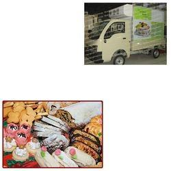 Cakes Refrigerated Truck for Confectionery