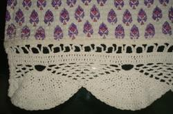 Crochet Lace Towel