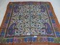Pure Silk Kanni Printed Square Scarves