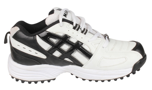 543781cd6164 Cricket Shoes   Panther White   - Marshall Exports