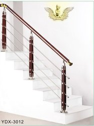 SS Railing Wood Baluster
