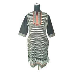 Cotton Ladies Printed Kurti