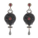 Beaded Diamond Earring