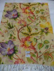 Silk Wool Light Weight Floral Digital Printed Stoles