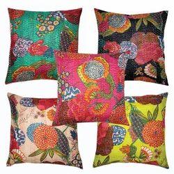 Tropicana kantha cushion pillow covers