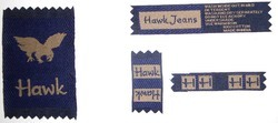 Customized Textile Washcare Labels