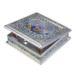 Silver Dry Fruit Box, for colletion