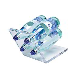 Multi Bottles Acrylic Display Stand