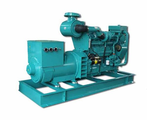 Diesel Generator Set With Air Cooling System