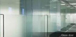 Glass Door Partition