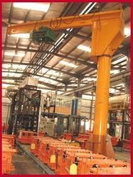 Jib Crane For Manufacturing Industries