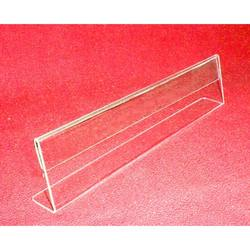 Horizontal Name Plate Acrylic Sign Holder