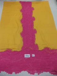 Pure Woolen Contrast Lace Stoles