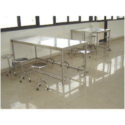 Dining Canteen Mess Table