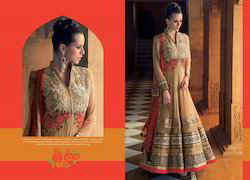 Ladies Georgette Embroidered Suits