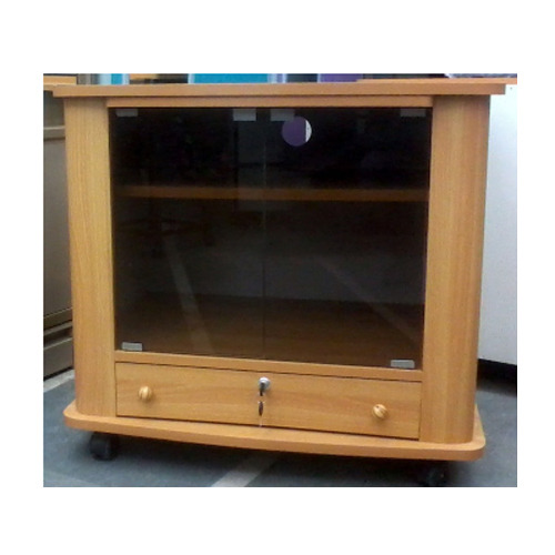 Brown Wood TV Trolley, Rs 3500 /piece, Rolex Furniture