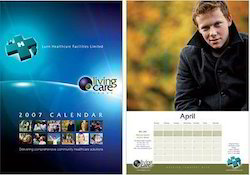 Offset 6 - 7 Days Calendars Diary Printing Services, in Pan India, Dimension / Size: 10x15 Inch - 12x18 Inch