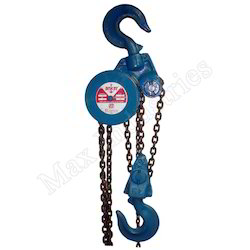 Anker Heavy Chain Pulley Block, Capacity: 1 ton