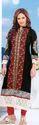 Blakc Designer Embroidery Suit
