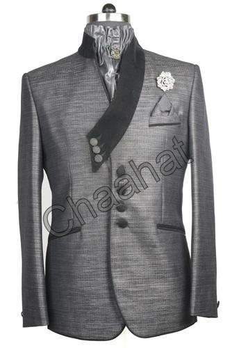 cda0465f241 Chaahat Grey Gents Party Wear Suit
