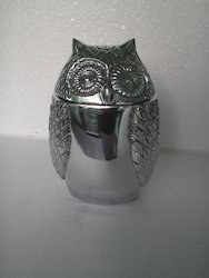 Metal Owl Box