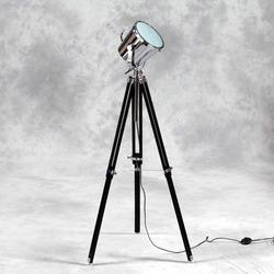 Black Wooden Tripod Spot Light