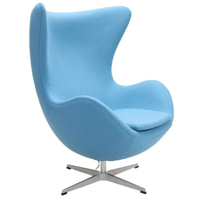 Superieur Arne Jacobsen Egg Chair Blue