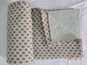 Handmade Cotton Kantha Quilts