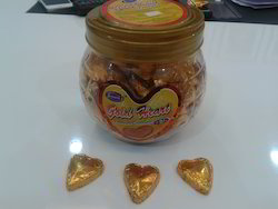 Gold Heart Chocolate