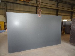 Honed Black Granite Slabs