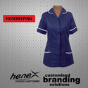 Shirts And Boots & Footwear Blue Ladies Housekeeping Uniform