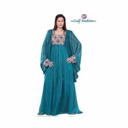 9513f1355157 Party Wear Chiffon Kaftans at Rs 3050 /piece | Chiffon Kaftan | ID ...