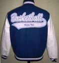 White Sleeve Varsity Jacket