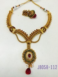 Antique Meenakari Necklace