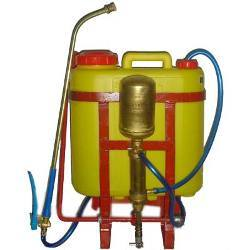 Knapsack Sprayer Plastic Tank with Outside Chamber
