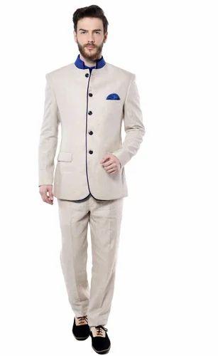 White Jodhpuri Suit- Mohanlal Sons