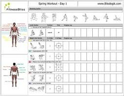 Workout Schedule Training Exorise In Bwing Mumbai Mansiashta