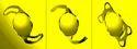Yallow Aspheric Foldable Lens