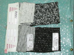 Lurex Booklet Fleece Fabric