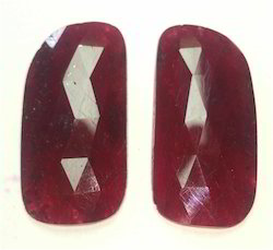 Dyed Ruby Gems Slices