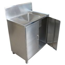 Stainless Steel Trolley With Sink