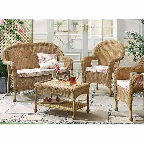 Cane Sofa Set Price In Delhi