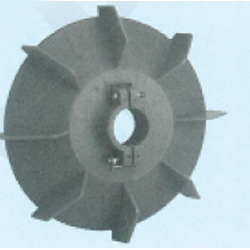 Plastic Fan Suitable For Crompton 132 Frame Size